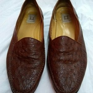 Magnanni Ostrich Loafers
